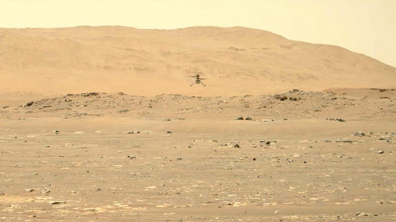NASA's Mars rover extracts first oxygen; Ingenuity helicopter completes second flight