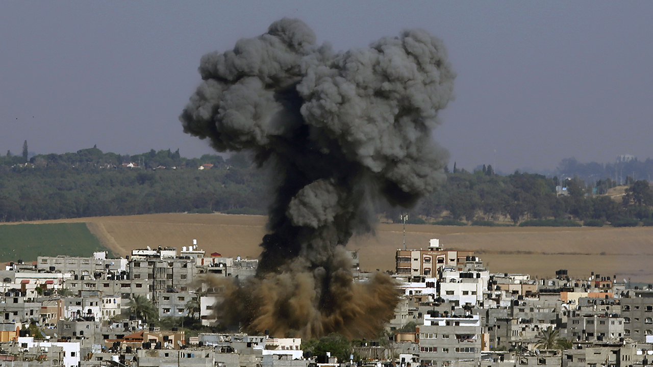 Hamas lobs hundreds of rockets in 24 hours, Israel responds by attacking targets in Gaza - fox