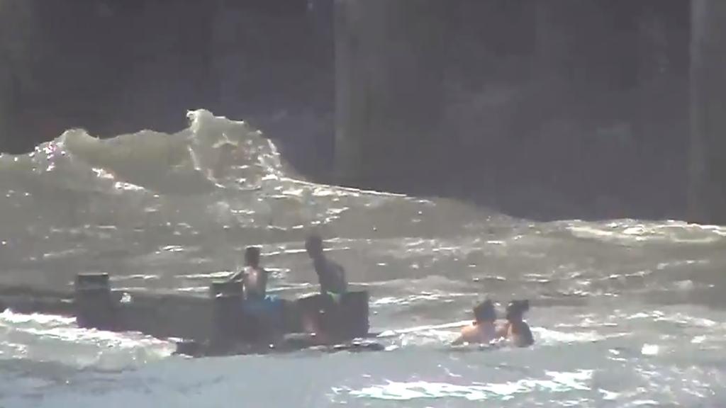 Atlantic City police, good Samaritans rescue several children from dangerous rip tides