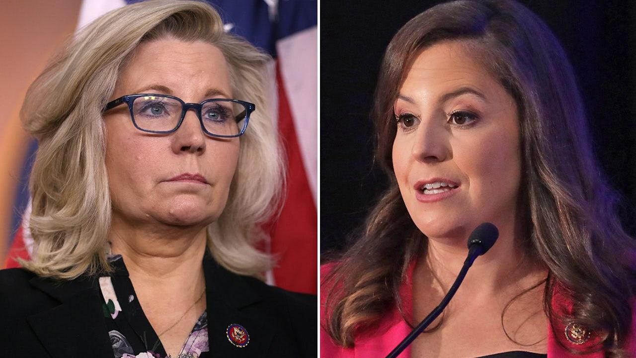 Elise Stefanik Calls Liz Cheney a 'Pelosi Pawn'