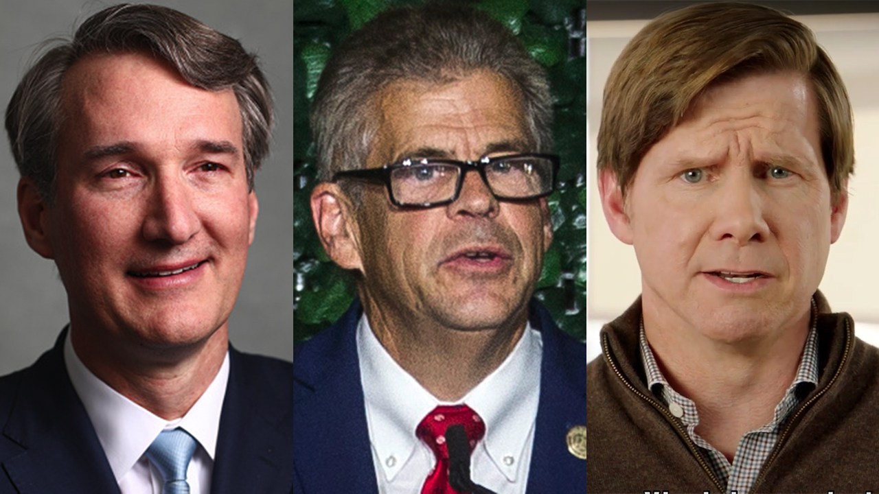 Republican candidates in Virginia governors