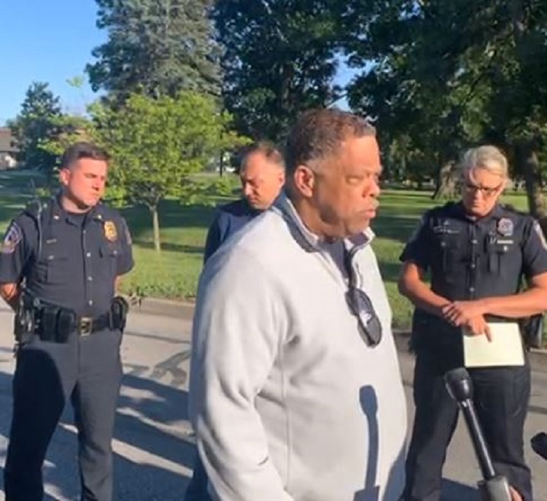 Indianapolis police officer shot multiple times during shootout with suspect