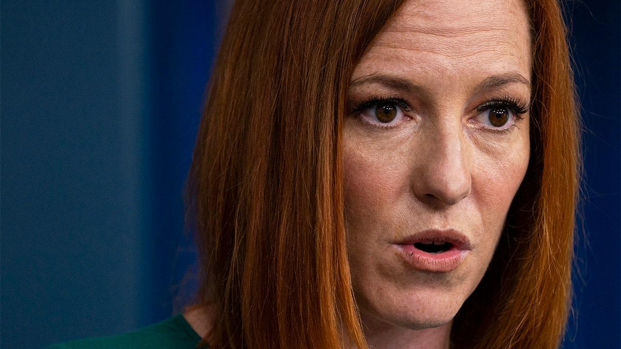 Jen Psaki White House Social Media Misinformation AP