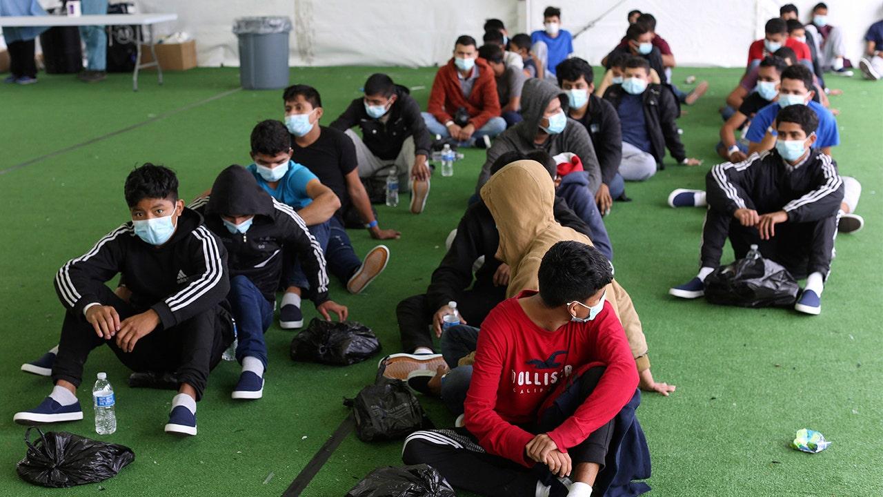 Migrant Children US Mexico Border AP