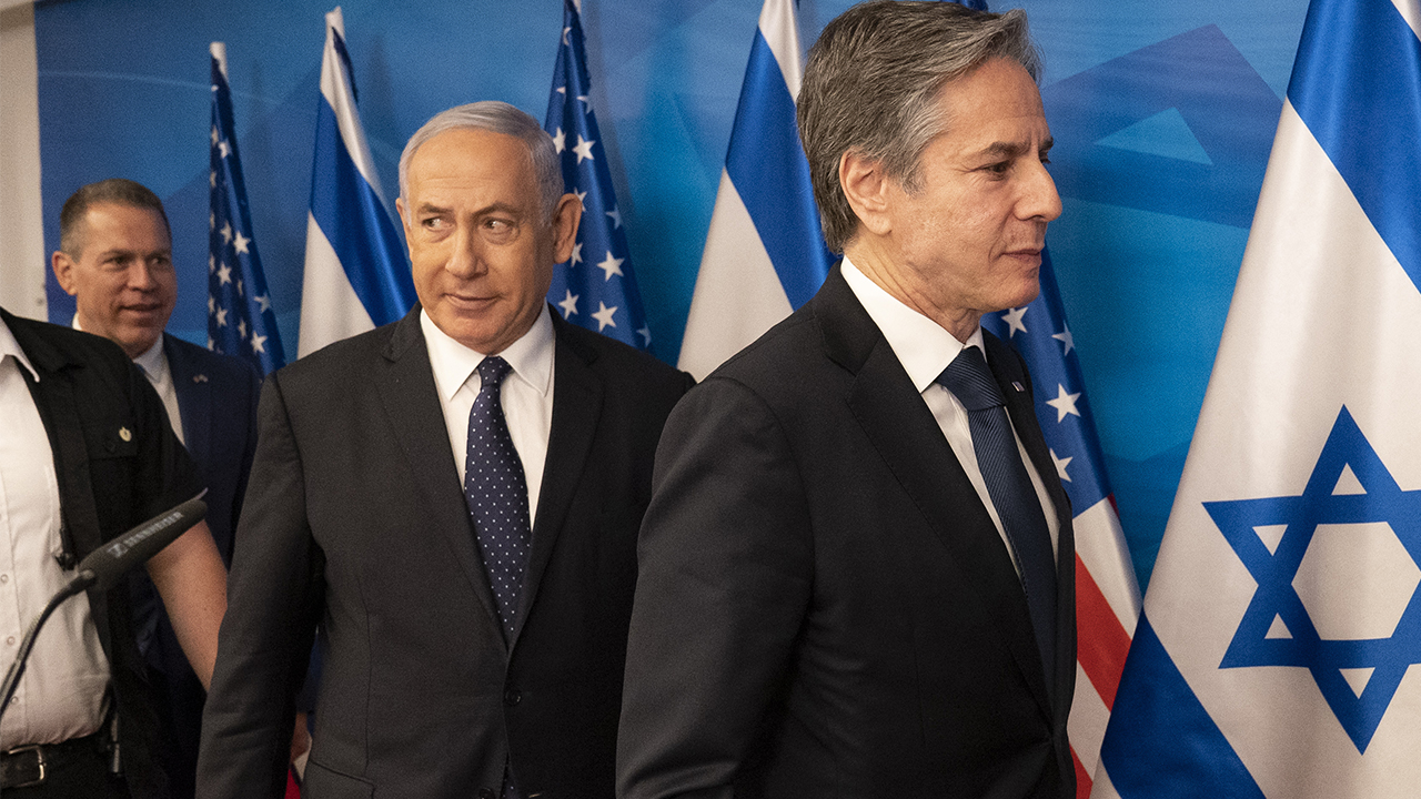 Netanyahu in front of Blinken says US should stay away from Iran nuclear deal – Fox News