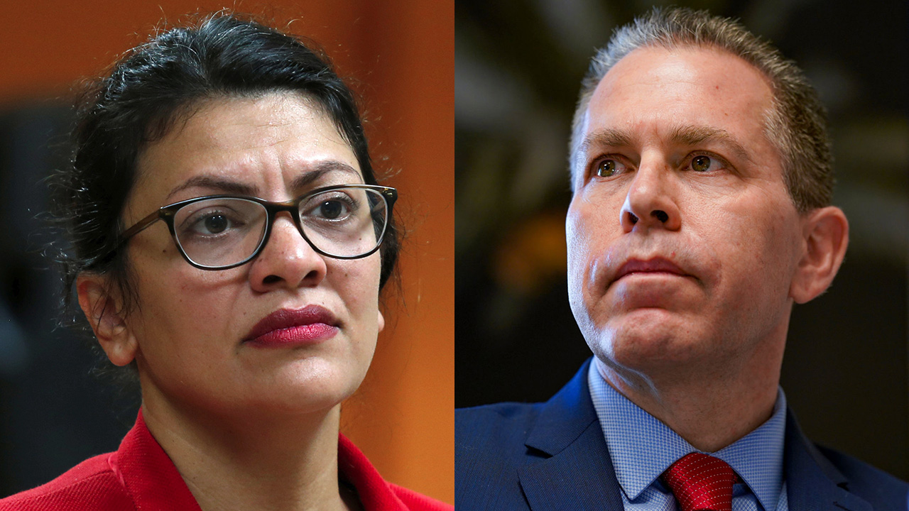 Israeli ambassador accuses Tlaib of 'stoking tensions' over Al-Aqsa mosque