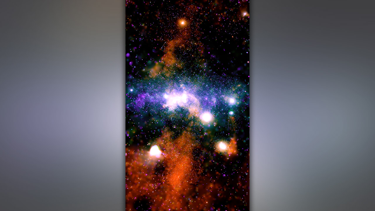 Excellent new image from NASA's Chandra Observatory reveals vibrant threads of Milky Means