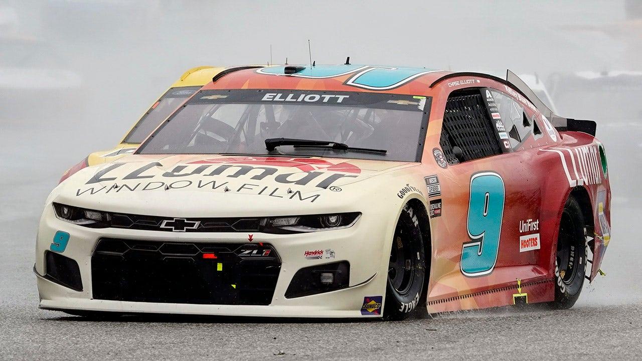 Chase Elliott wins rain-shortened Texas NASCAR Cup Series road race