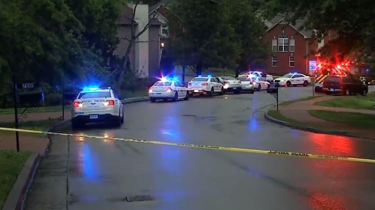 Nashville police officer shot while responding to call