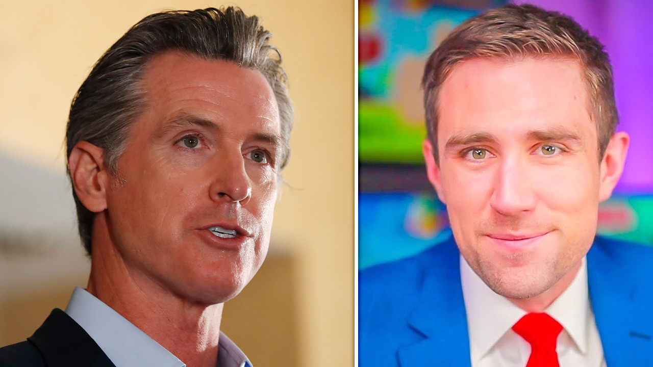 Newsom challenger calls embattled guv a 'weanie baby,' post briefly censored from <b>Instagram</b> thumbnail
