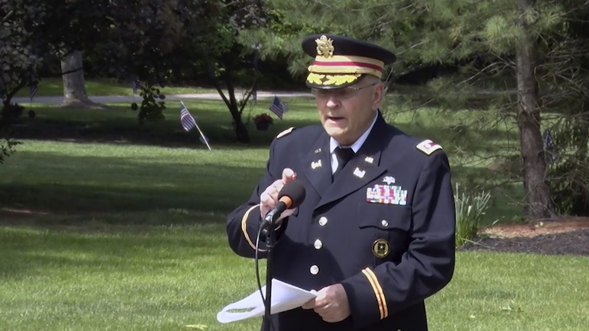 Legion official resigns over censored Memorial Day speech