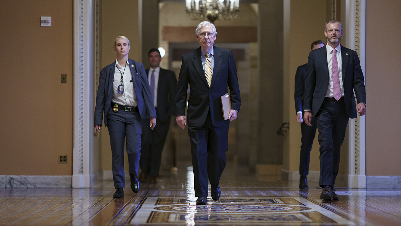 GOP uses filibuster to block Democrats' election reform bill