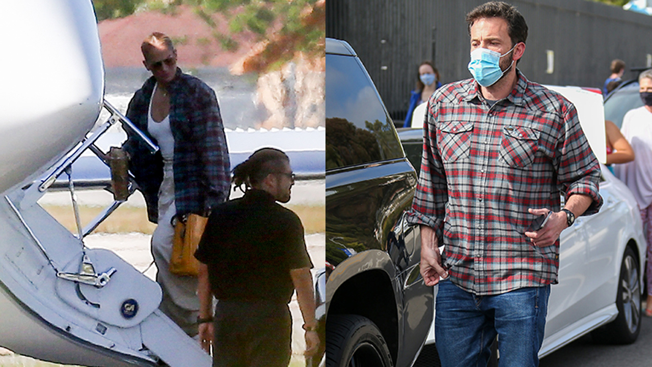 Jennifer Lopez wears what appears to be Ben Affleck's shirt during outing – Fox News