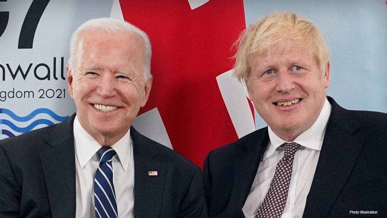 Biden Johnson G7.