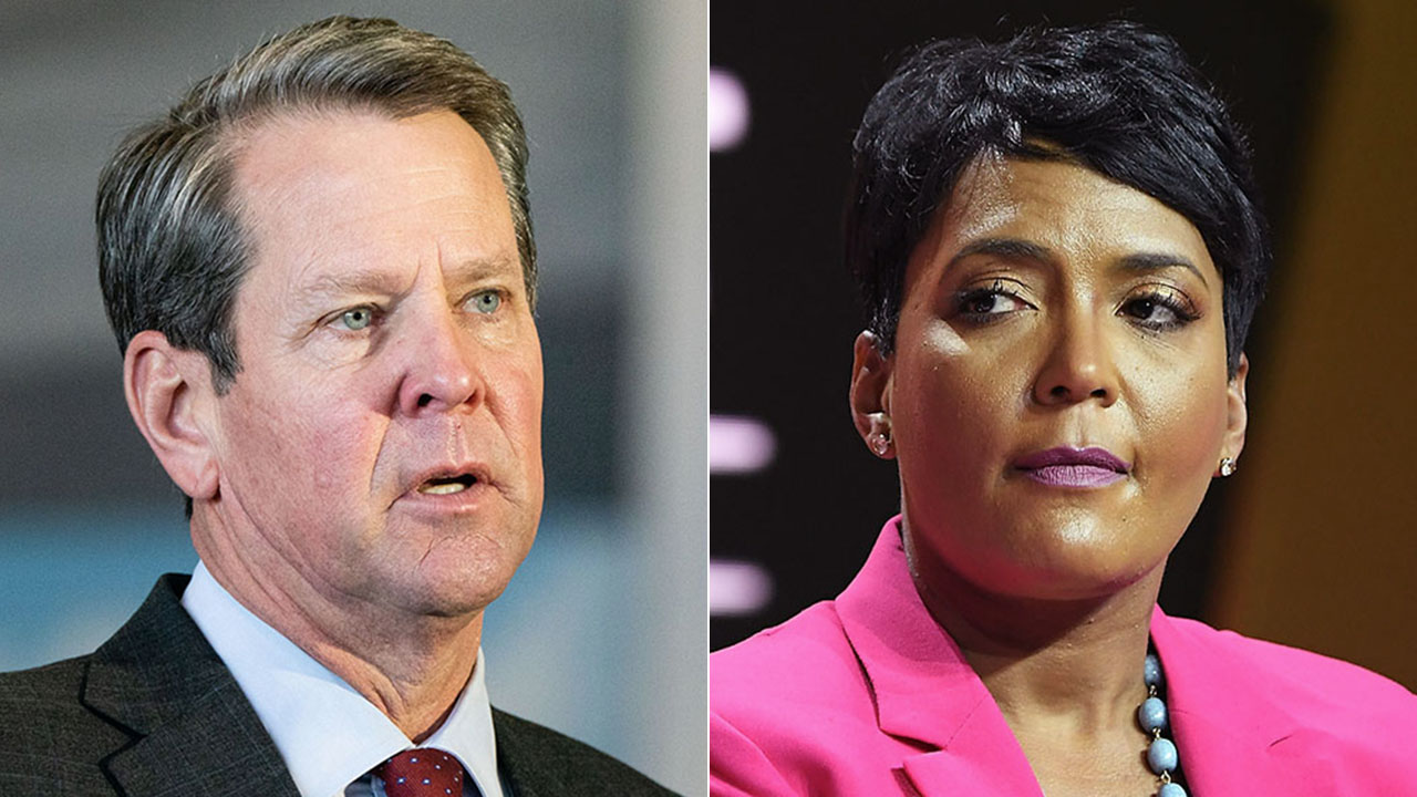 'Fed up' Georgia Gov. Kemp rips ATL mayor who blames crime surges on COVID reopenings