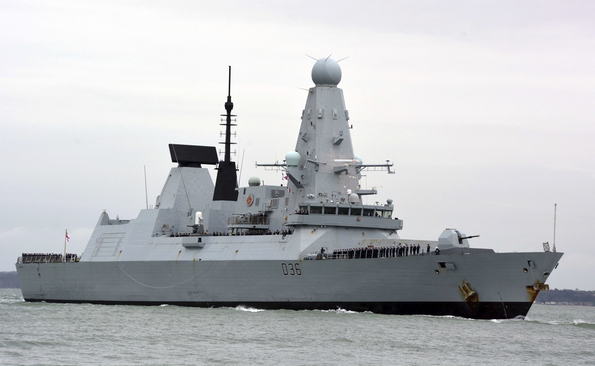 Russia says it is prepared to hit intruding warships next time