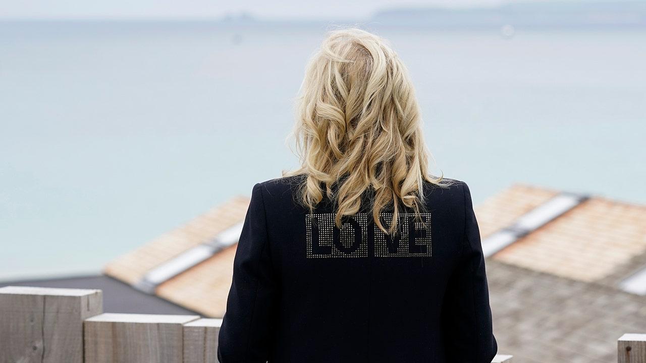 LOVE jacket Biden.