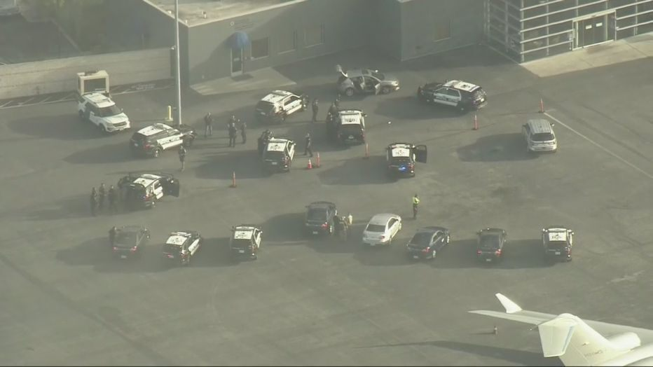 Security breach reported at LAX car drives on runway heavy police response – Fox News
