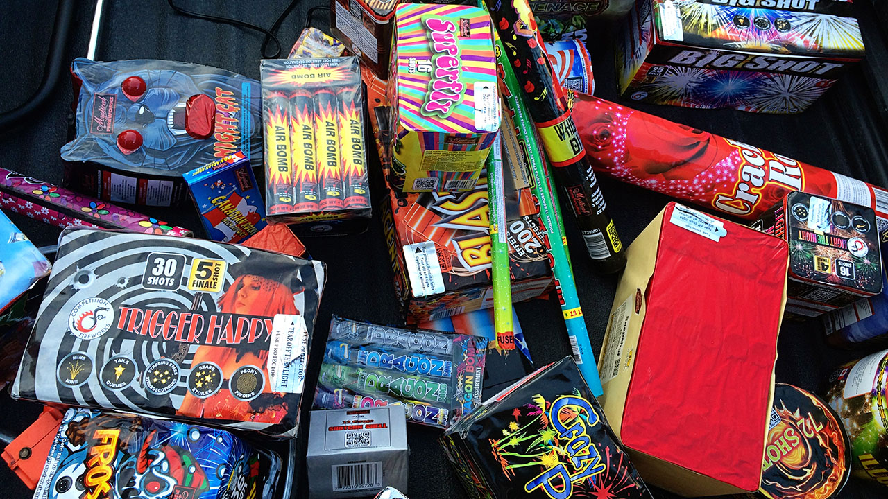 Families stock up on fireworks for July 4 amid supply shortage