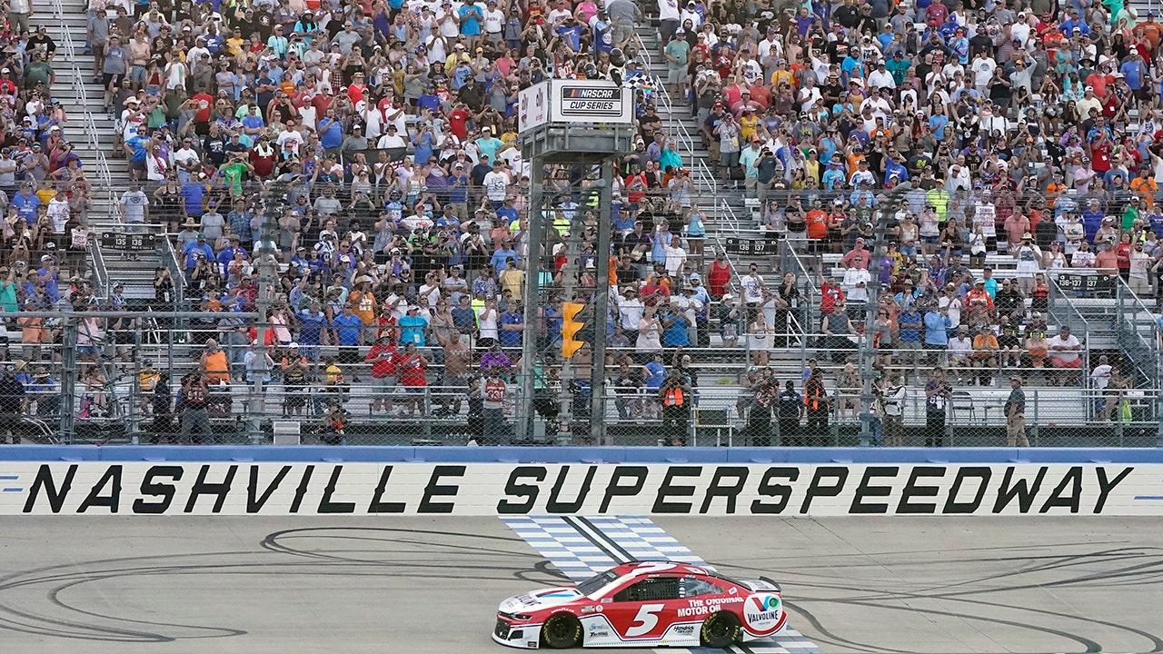 NASCAR in Nashville: Kyle Larson wins third consecutive Cup Series points race - Fox News