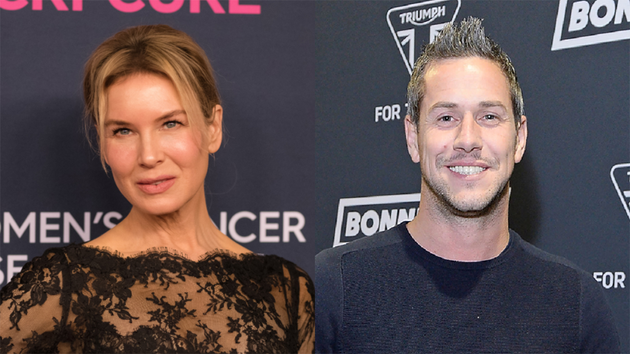 Renée Zellweger, Ant Anstead spotted at the TV host's beach home