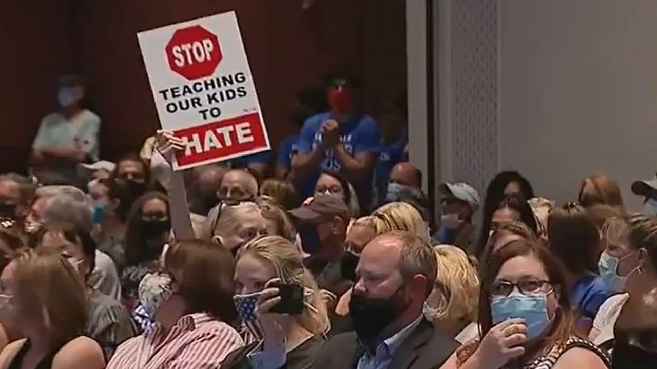 Virginia's Loudoun County parents rally as school board mulls transgender, critical race theory policies