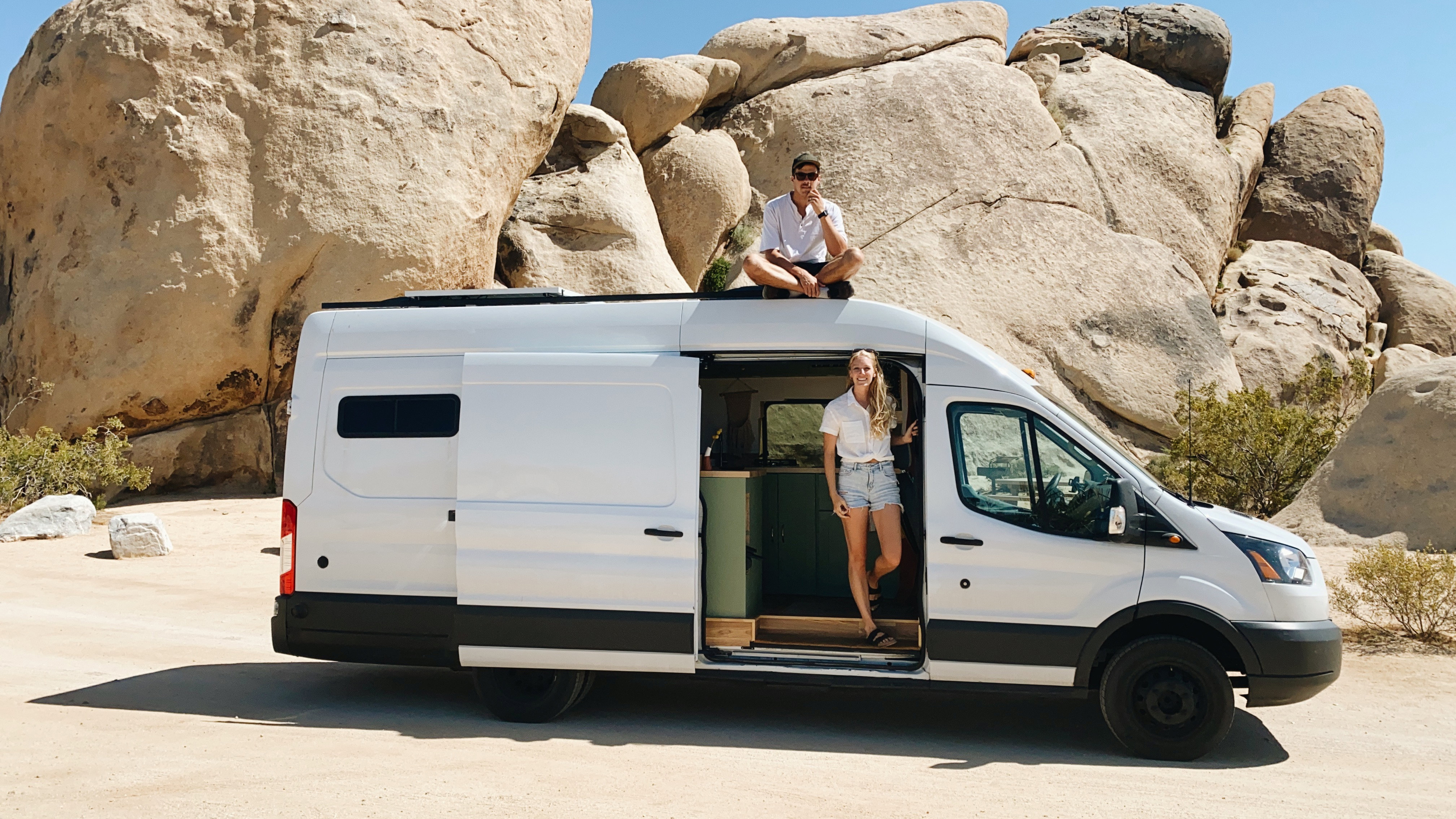 Newlyweds travel across the country in a van after COVID-19 canceled their wedding