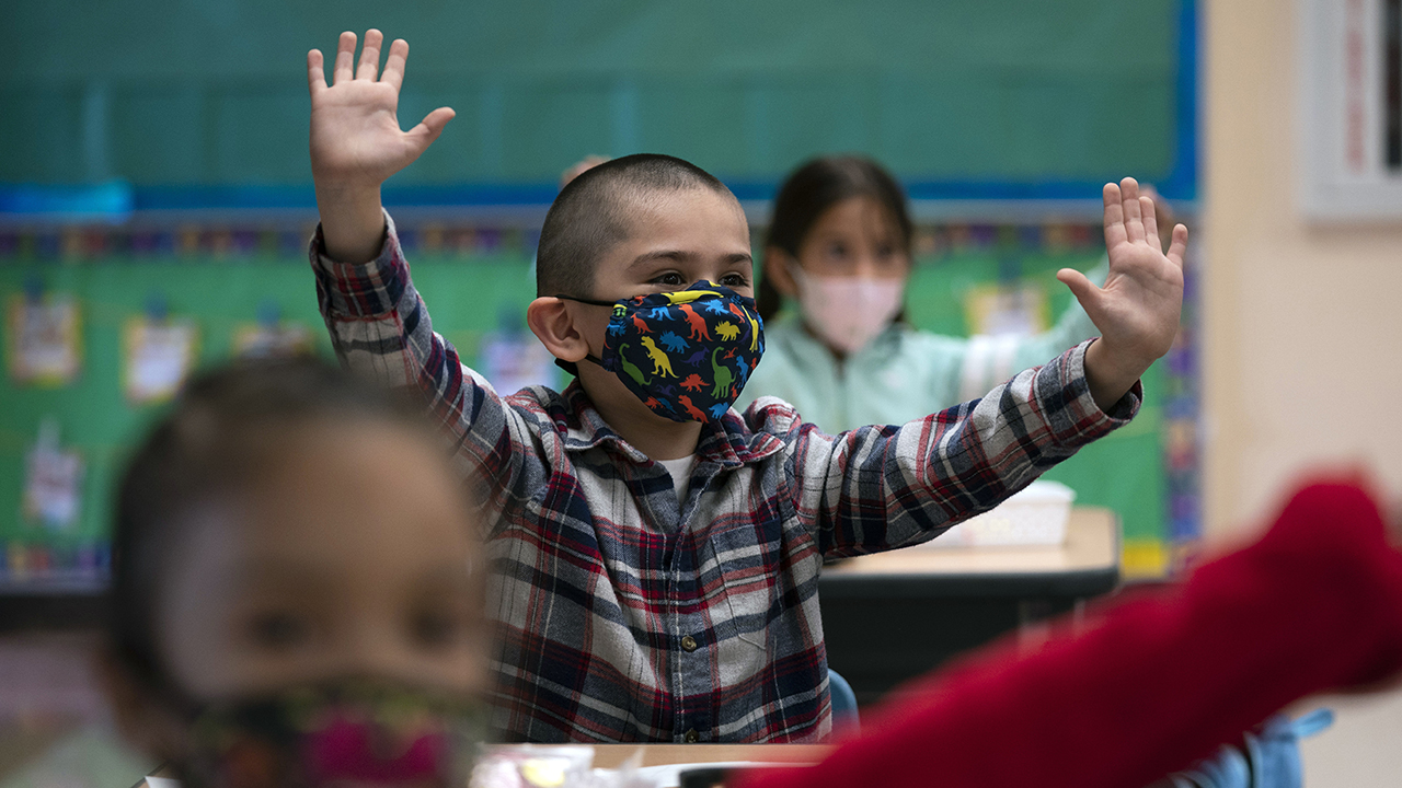 Masks recommended inside schools for anyone over age of 2: American Academy of Pediatrics