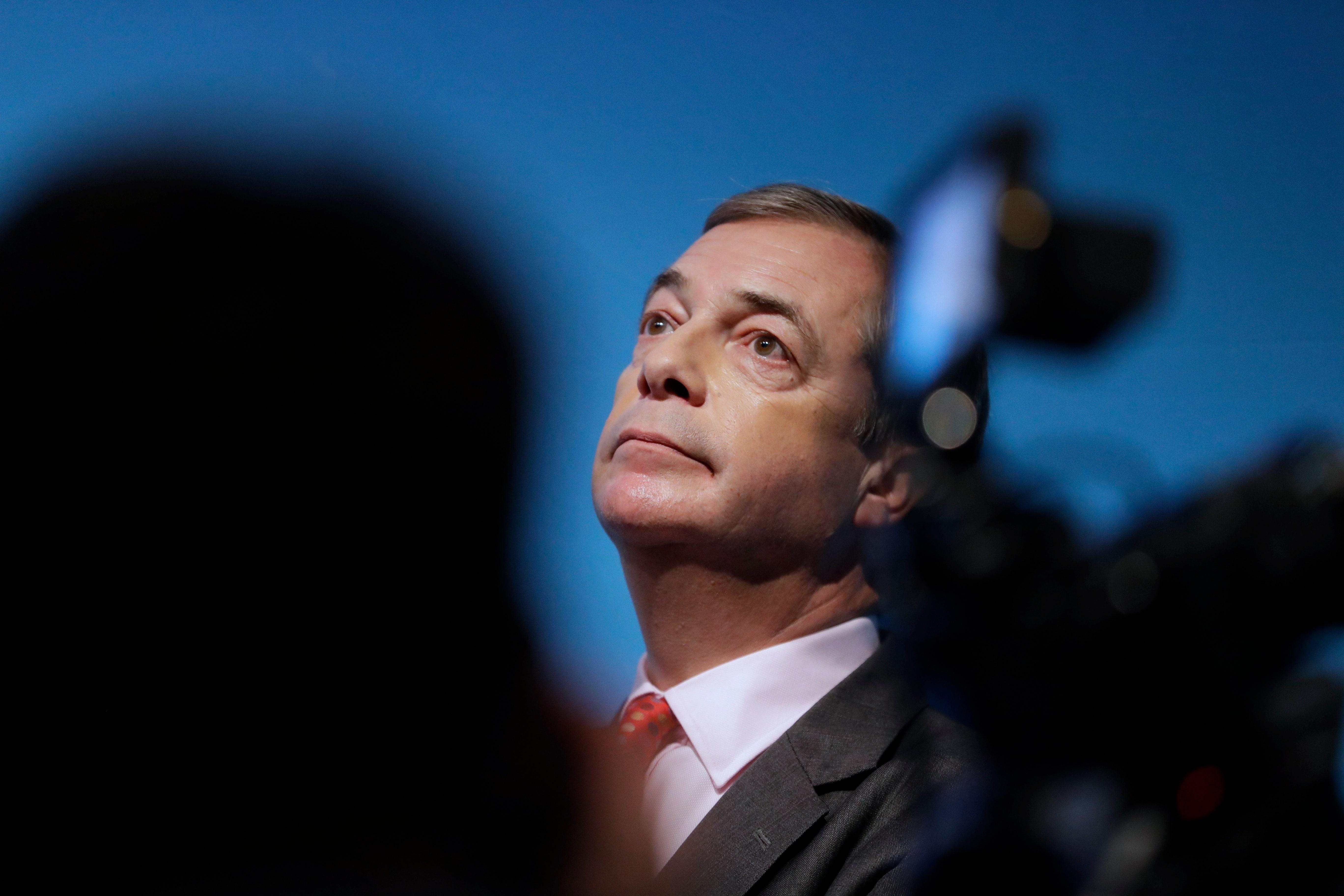 Struggling channel GB News hires Nigel Farage to host show