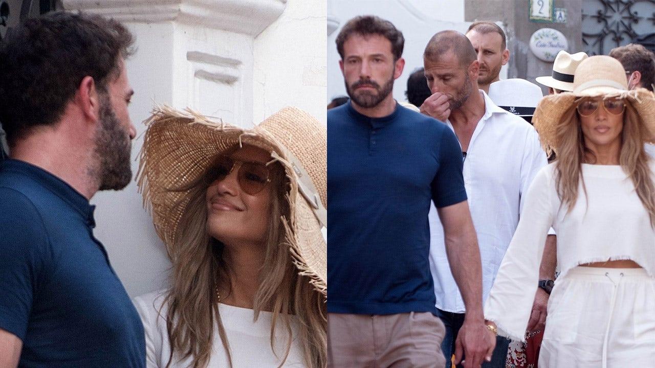 Jennifer Lopez can't keep her eyes off of Ben Affleck during Italian getaway - Fox News