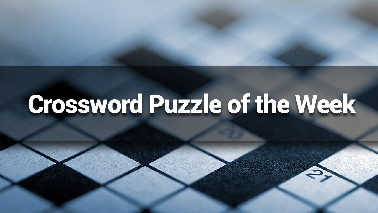 FOX NEWS: Crossword Puzzle of the Week: September 8