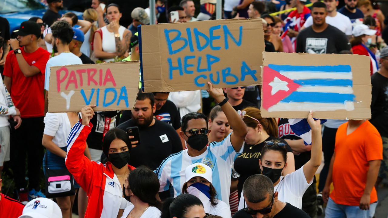 Republicans spotlight Cuba as socialism failure as protests erupt amid historic economic crisis