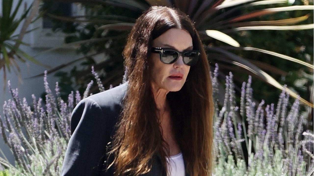 Bill Cosby accuser Janice Dickinson looking somber after his sex assault conviction overturned