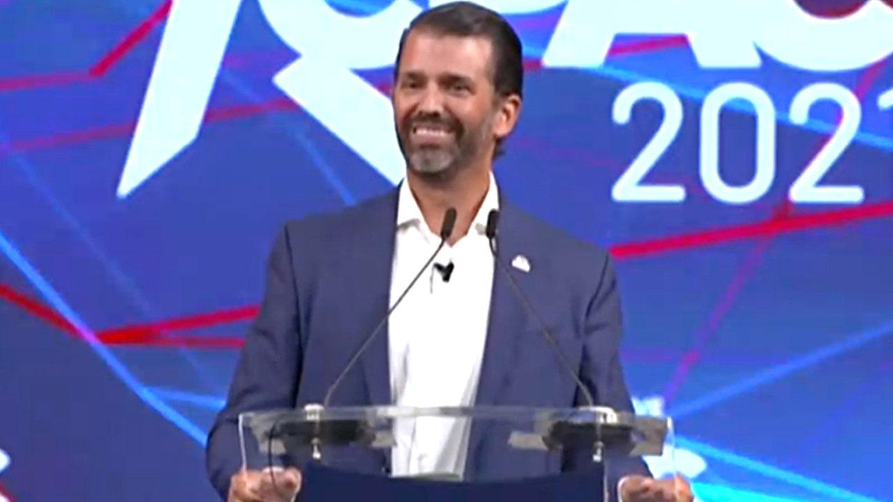 Donald Trump Jr. tears into Avenatti, Fauci, Hunter Biden, and CNN in a fiery CPAC Dallas speech