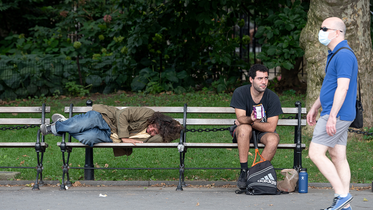 NYC's Washington Square Park, Once A Hot Spot For 'Friends,' Succumbs To Urban Decay