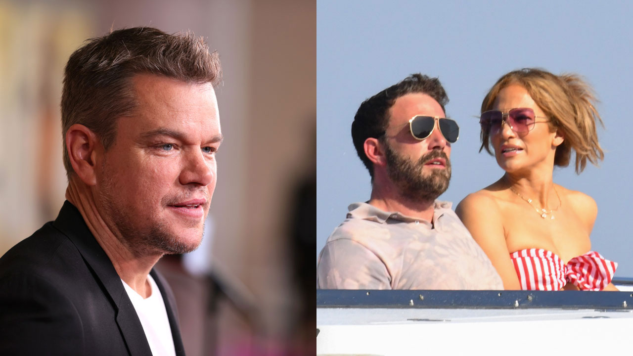 Matt Damon reveals the one thing that has been different about Jennifer Lopez, Ben Affleck's rekindled romance