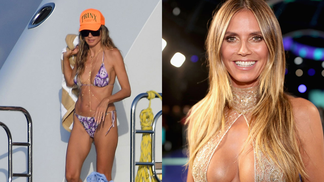 Heidi Klum goes topless while yachting with husband Tom Kaulitz: 'You put the biggest smile on my face'