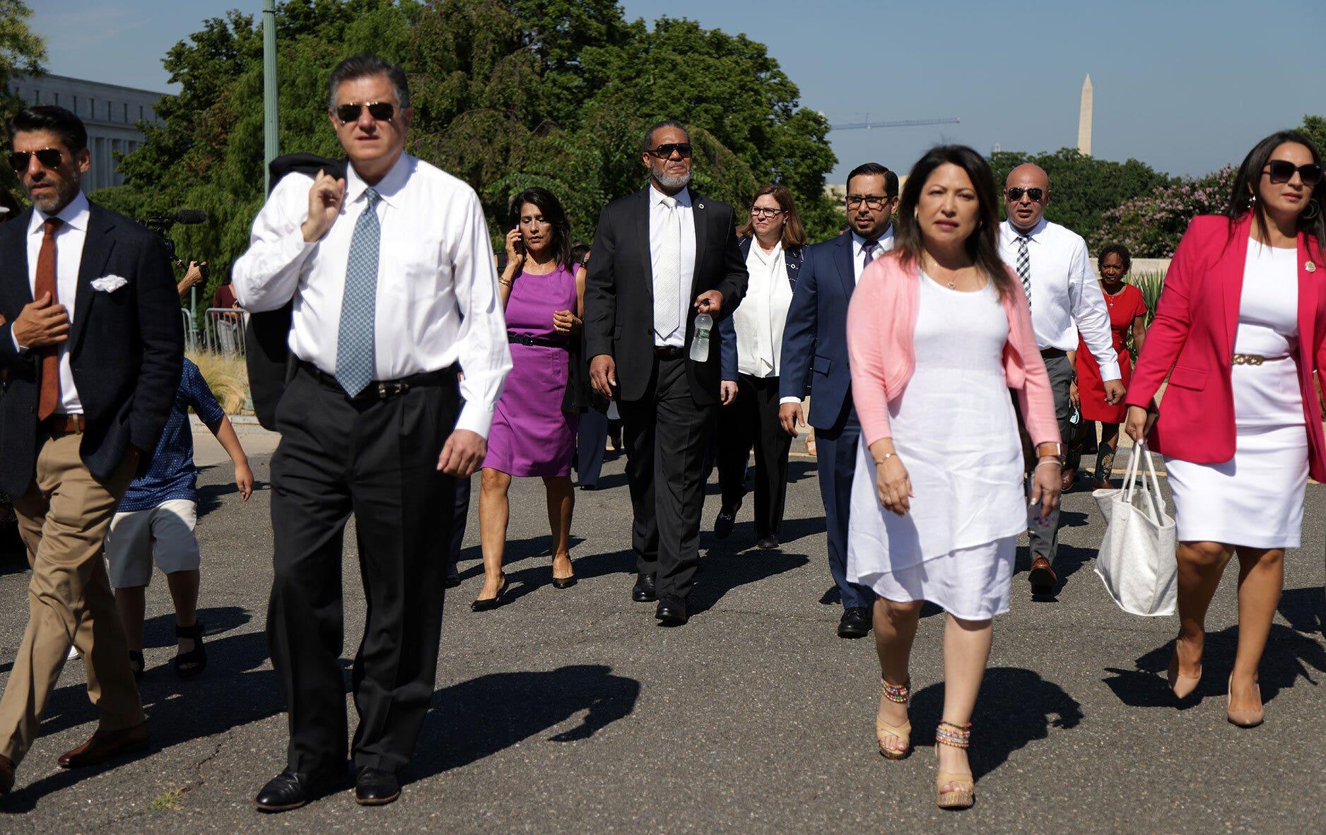 Texas Democrats in DC: Photos of their trip