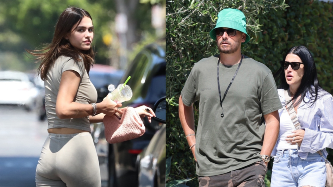 Scott Disick shops with new woman as Harry Hamlin admits age gap between Disick and daughter Amelia is 'odd'