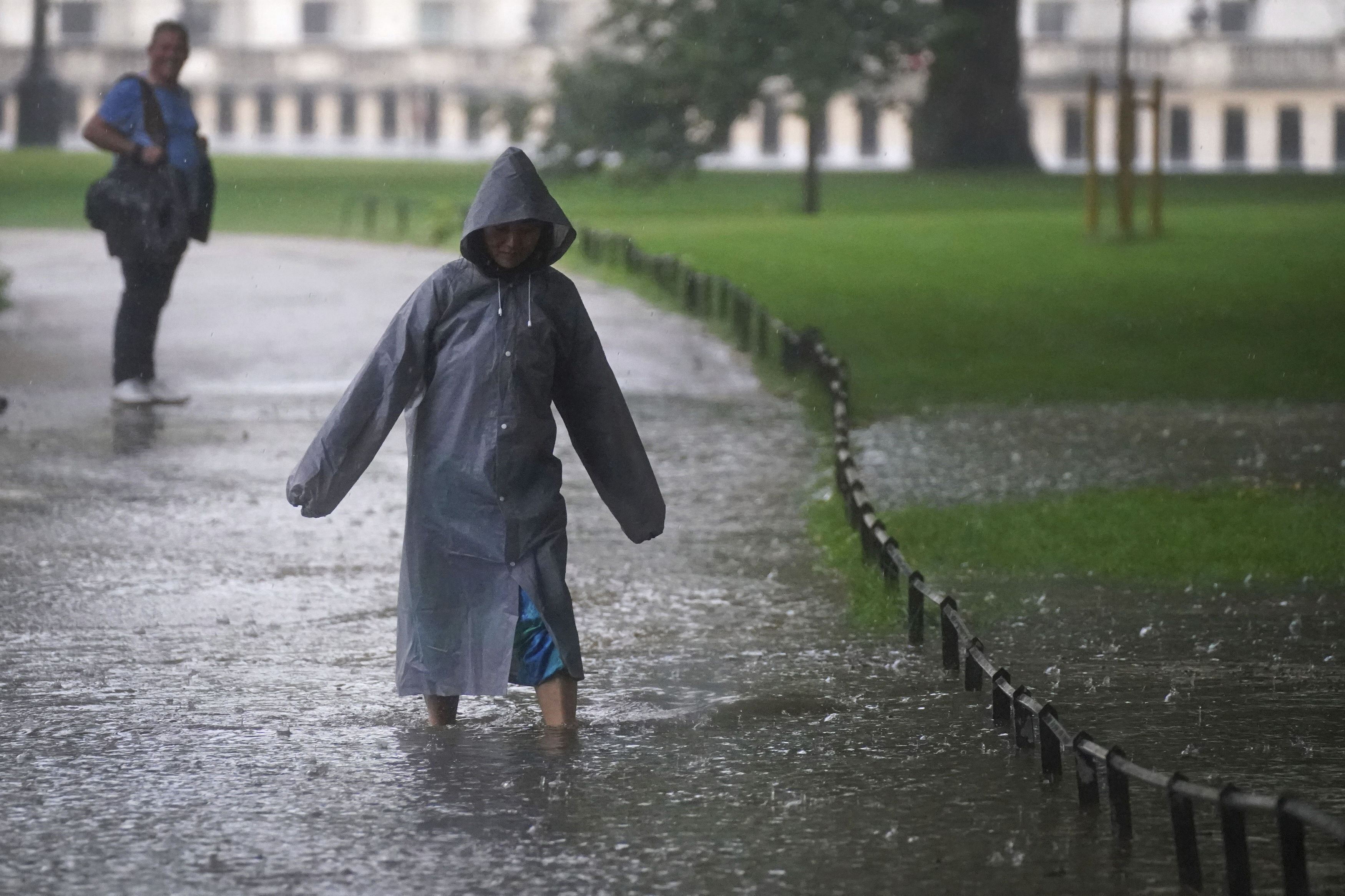 UK weather: Warnings remain after homes, roads and hospitals in England flooded in deluge of rain