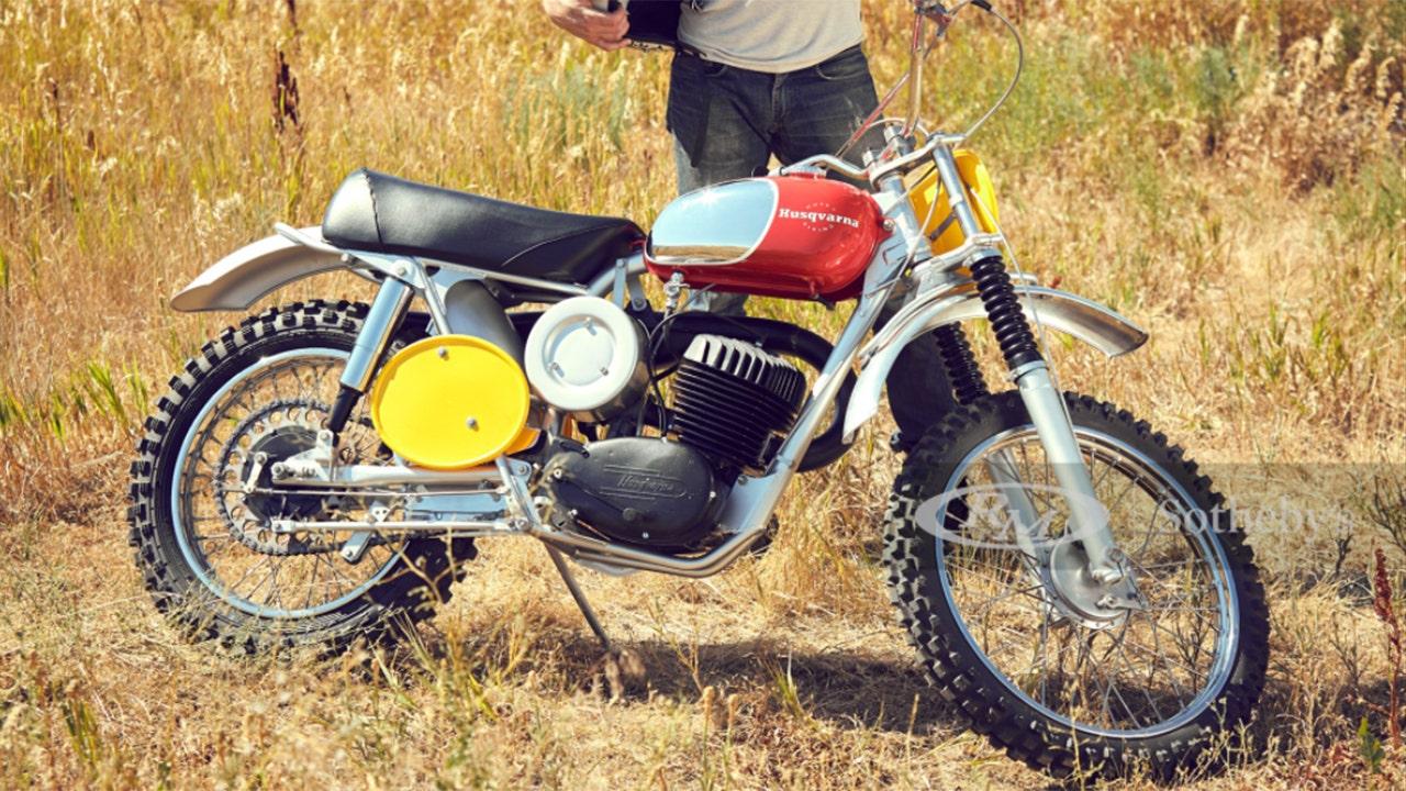 Тя би могла да продаде първия си мотоциклет на Steve McQueen Husqvarna за малко богатство