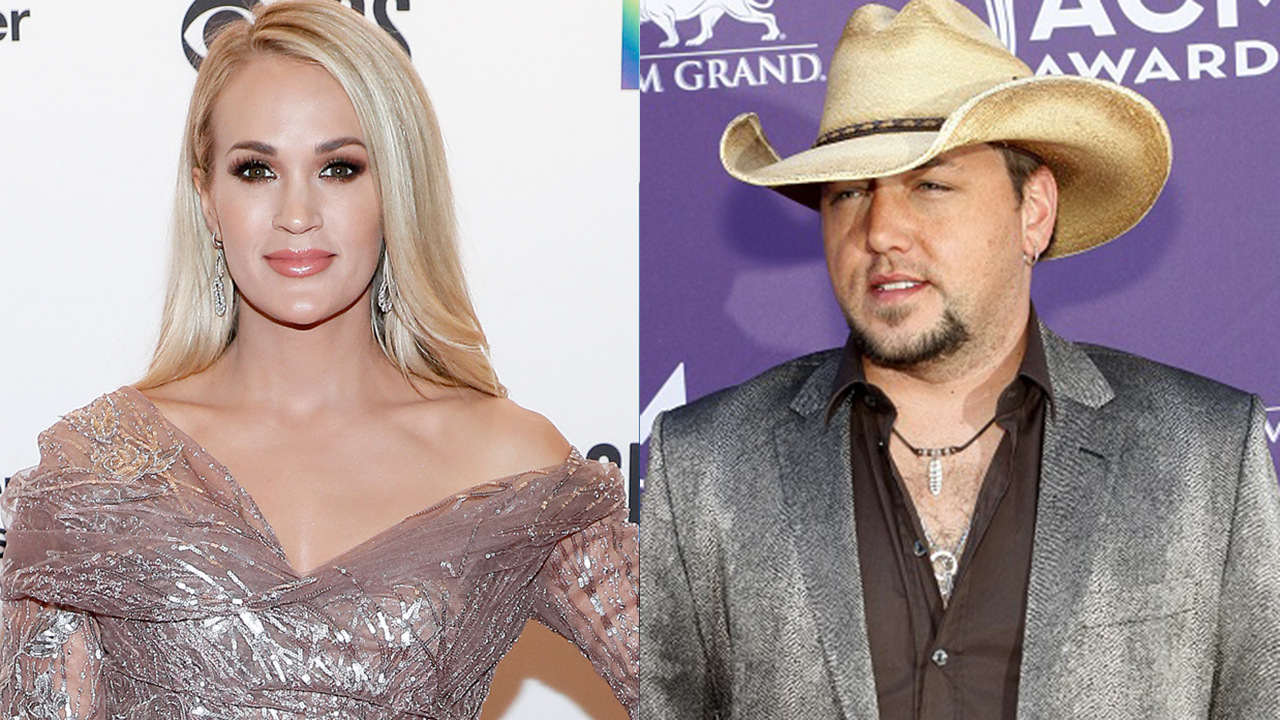 Carrie Underwood reveals she's the mystery collaborator teased by Jason Aldean