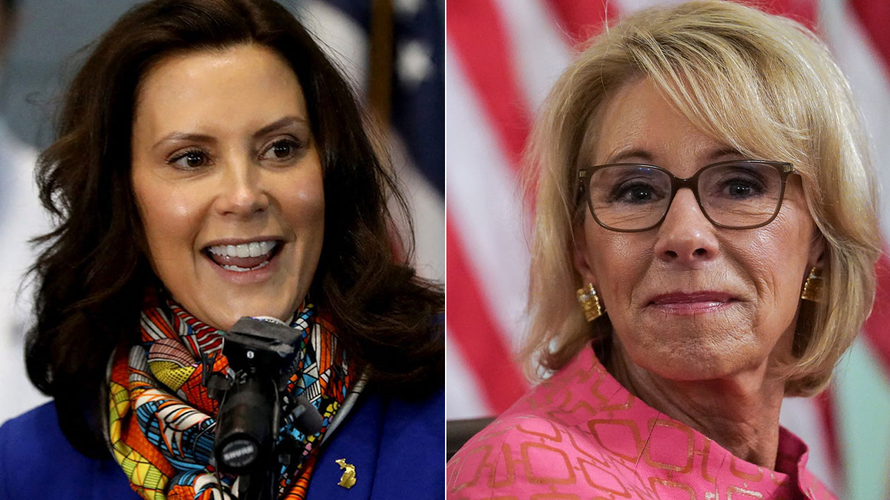Whitmer fundraising letter warns of 2022 DeVos challenge that doesn't exist: report