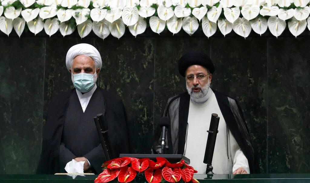 Iranian hardliner Raisi, tied to mass executions, sworn in as regime president - Fox News