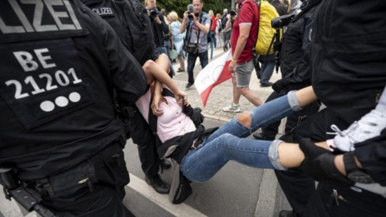 Germany protesters slam 'unbearable level of arrogance' as lockdown fears loom