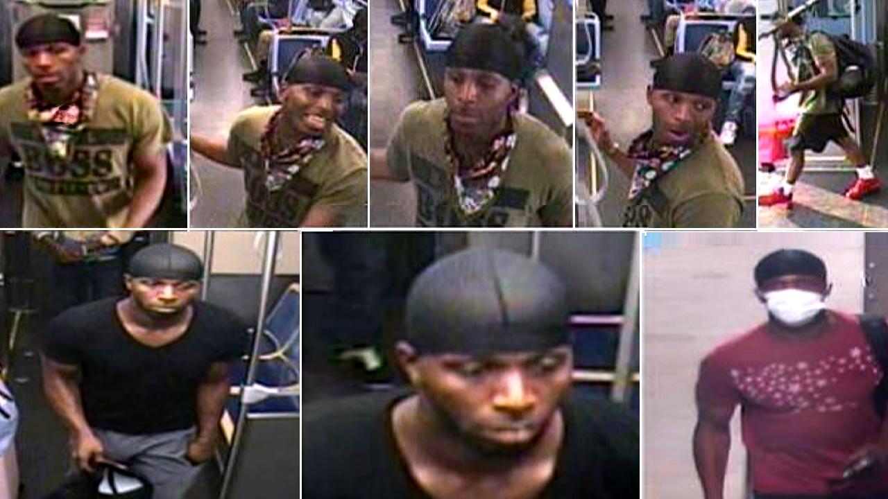 Chicago police hunt hammer-wielding suspect wanted in string of attacks on subway, bus riders
