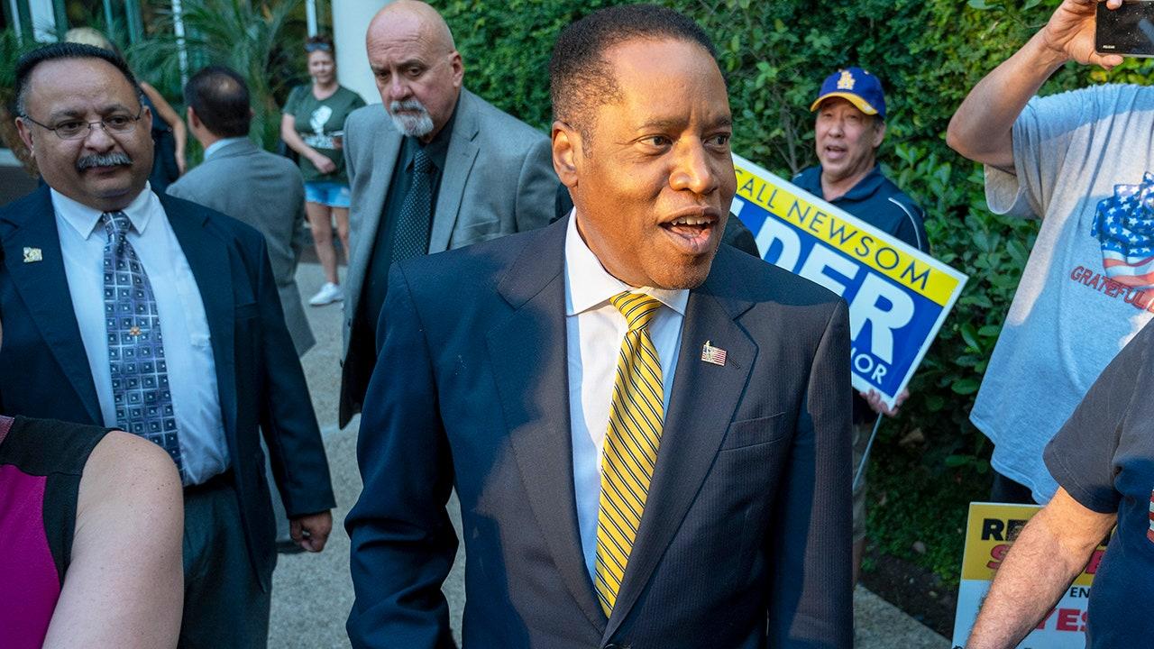Liberal media largely ignores egg attack on Black Calif. GOP gubernatorial candidate Larry Elder