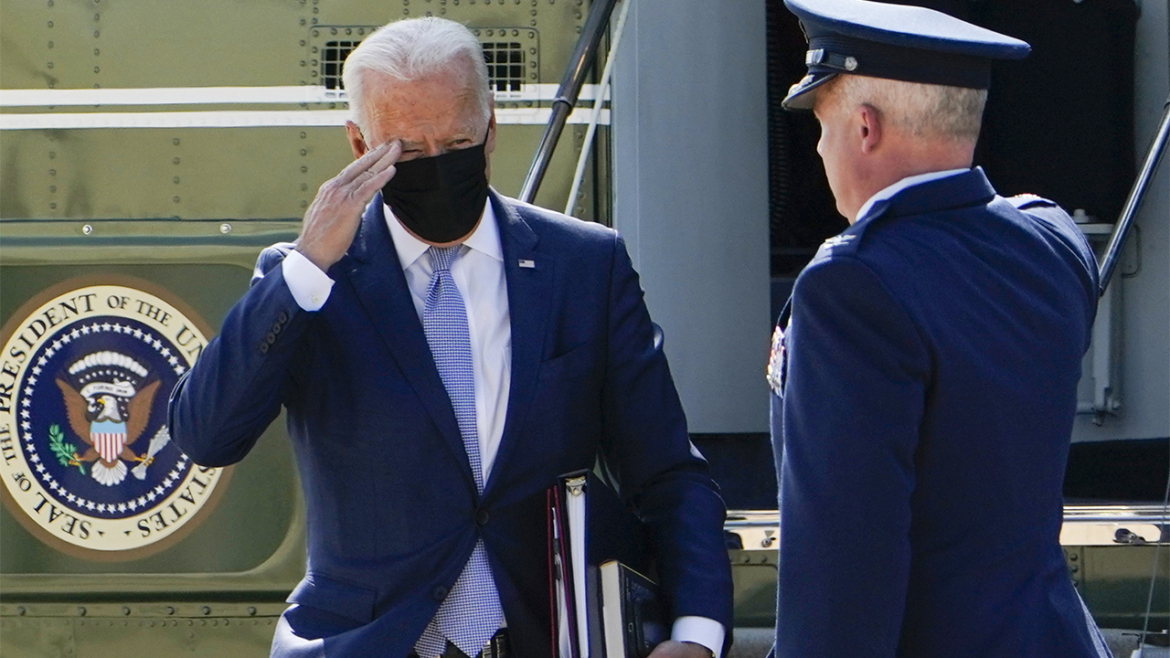 Biden hammered for spending time at Camp David while Taliban take over Afghanistan