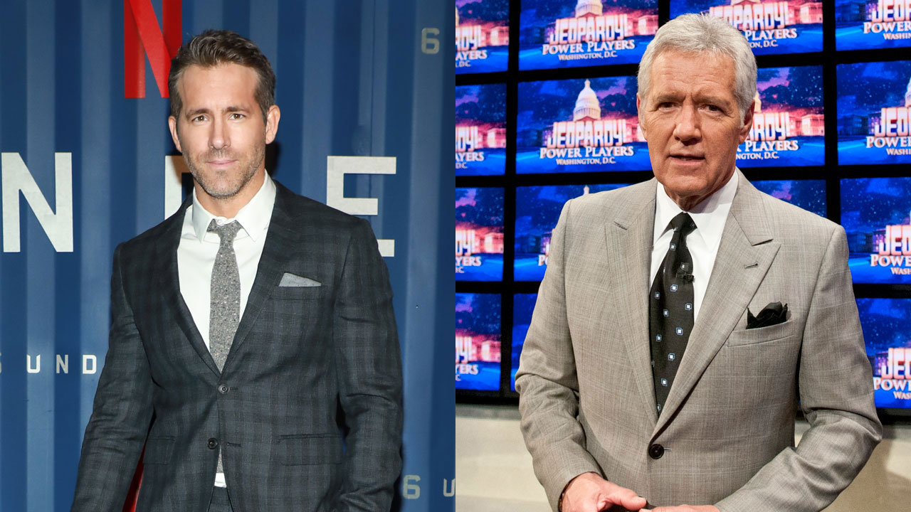 Ryan Reynolds reveals details about his final phone call with Alex Trebek