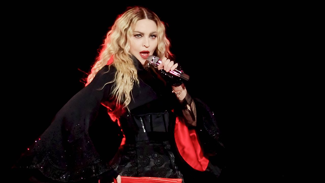Madonna shows her filter-free look